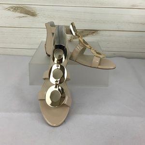 fabd3ba99fa NWT BCBGeneration Faroh Embellished Flat Sandals